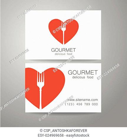 gourmet food logo