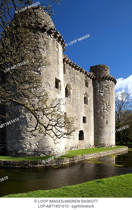 Nunney Castle near Frome in Somerset