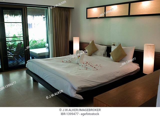 Haadson Resort, Thai style beach hotel, Khao Lak, Phang Nga, Thailand, Asia