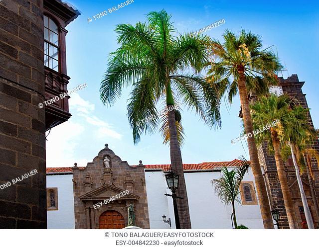 Santa Cruz de La Palma Plaza de Espana Iglesia Matriz de el Salvador church