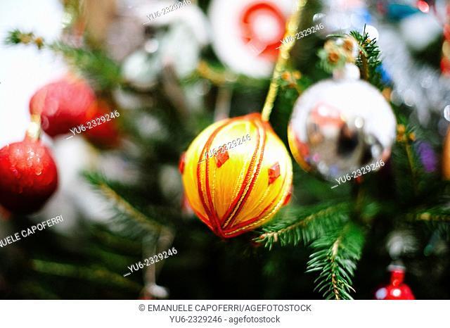Christmas decorations christmas tree