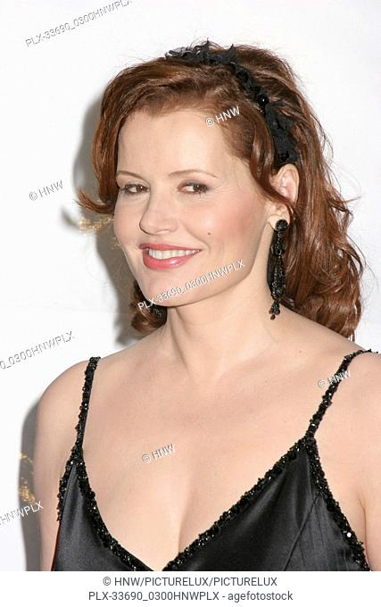 Geena Davis 01/14/06 G'Day LA: Australia Week 2006 - Penfolds Icon Gala Dinner @ The Hollywood Palladium, Hollywood photo by Fuminori Kaneko/HNW / PictureLux...