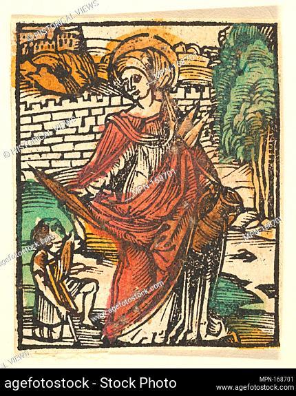 St. Elizabeth (adaptation). Artist: After Hans Baldung (called Hans Baldung Grien) (German, Schwäbisch Gmünd (?) 1484/85-1545 Strasbourg (Strassburg)); Date:...