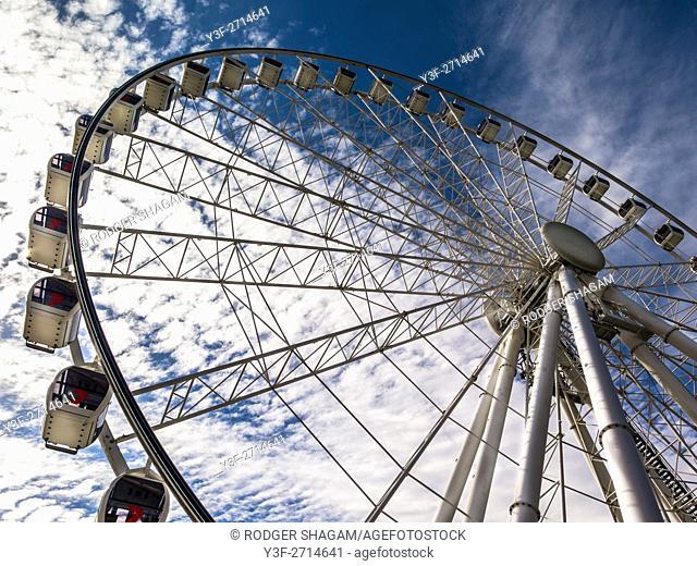 Big wheel in Brisbane