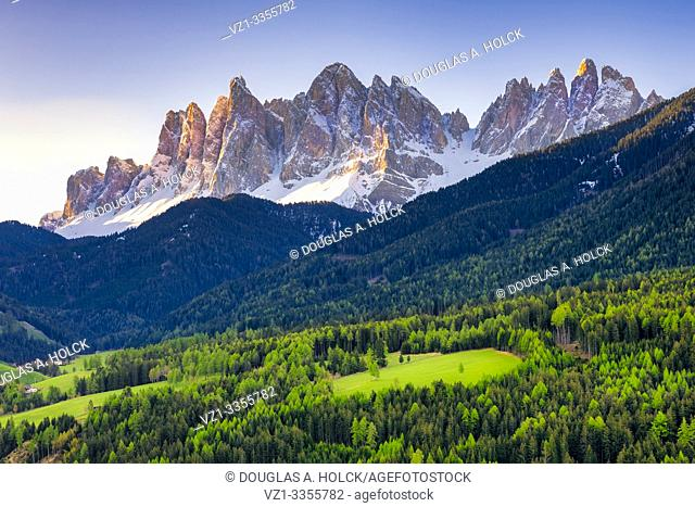 Glow on Dolomites South Tirol Italy World Location