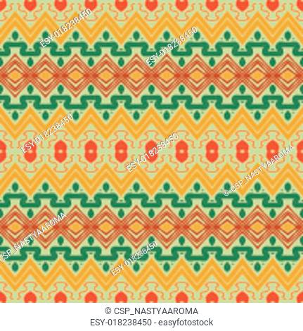 seamless ornament in ethnic style