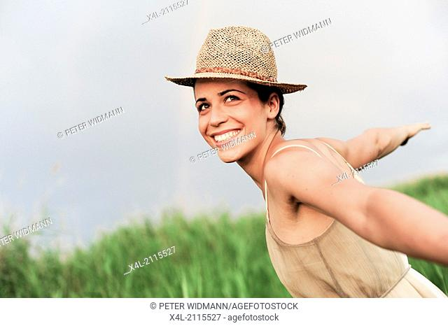 young beautiful woman (model-released)