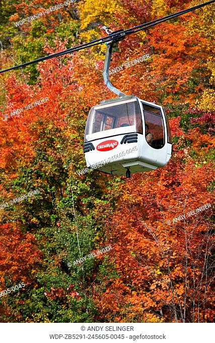 Cable Car in Mont Tremblant, Quebec, Canada