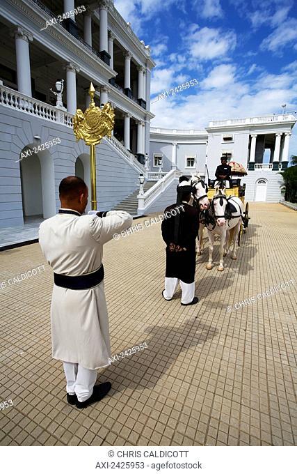 Falaknuma Palace; Hyderabad, Andhra Pradesh, India
