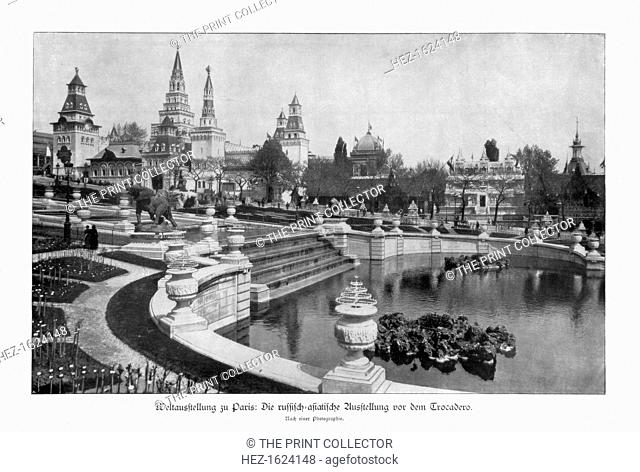 Trocadero, Paris World Exposition, 1889, (1900). The Russian-Asiatic exhibition