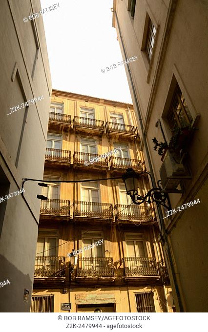 Building view in Valencia, Spain