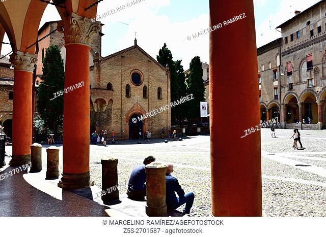 Santo Stefano Piazza, Bologna, Emilia-Romagna, Italy, Europe