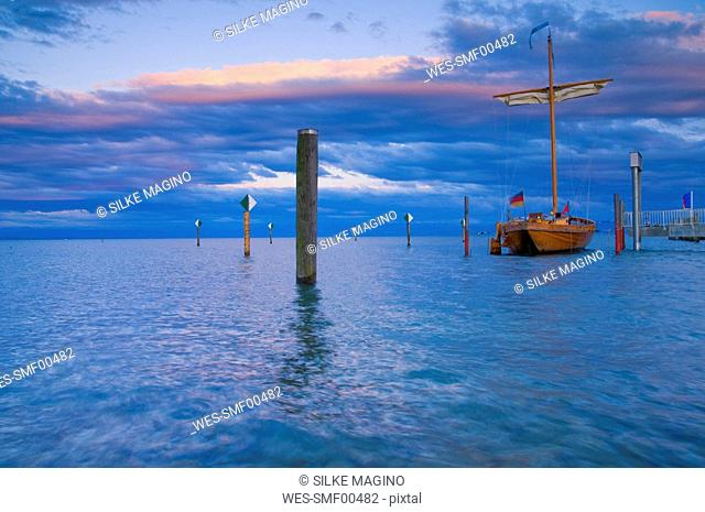 Germany, Baden W¸rttemberg, Immenstaad, Lake Constance