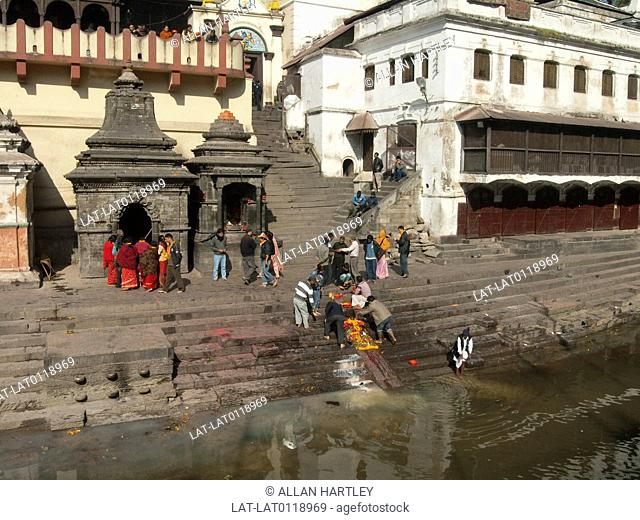 Pashupatinath temple is a Hindu temple on the Bagmati river . It is regarded as the most sacred temple of Shiva Pashupati in the world