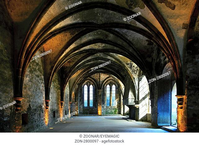 Abbey of Beauport near Paimpol, Brittany, France
