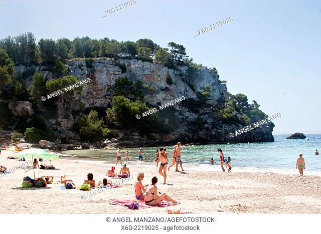 Macarella cove, Menorca