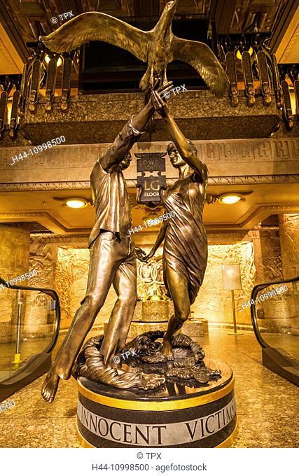 England, London, Knightsbridge, Harrods, Dodi Fayed and Princess Diana Memorial Statue