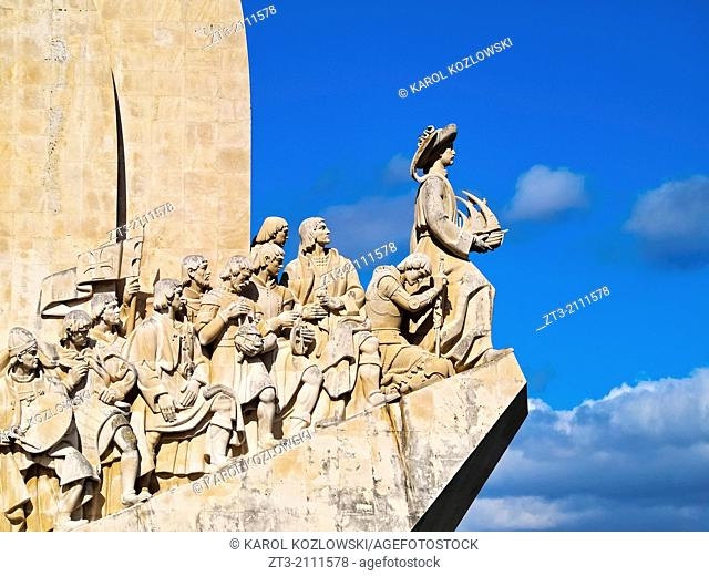 Padrao dos Descobrimentos - Monument to the Discoveries in Belem, Lisbon, Portugal