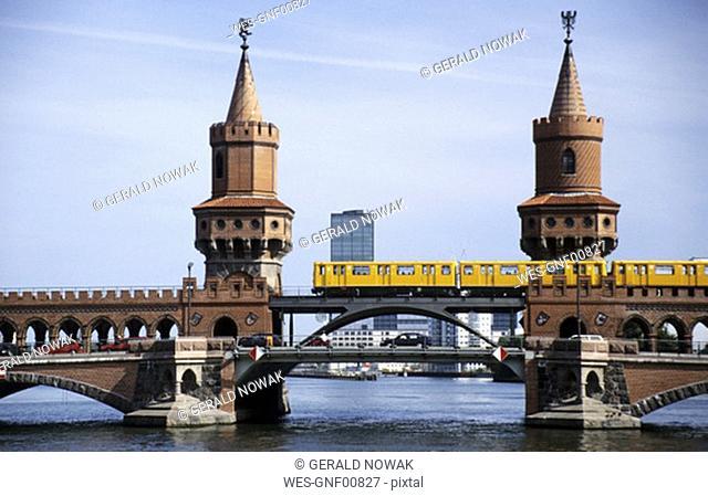 Germany, Berlin, Oberbaumbridge