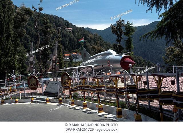 Air Force fighter Plane display, Singing Hills, Dalhousie, Himachal Pradesh, India, Asia