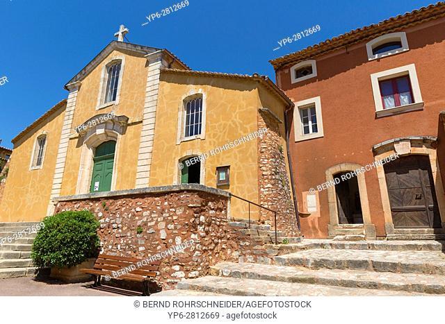Roussillon, Luberon, Vaucluse, Provence, France