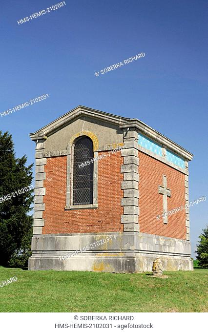 France, Marne, Valmy, Kellermann chapel