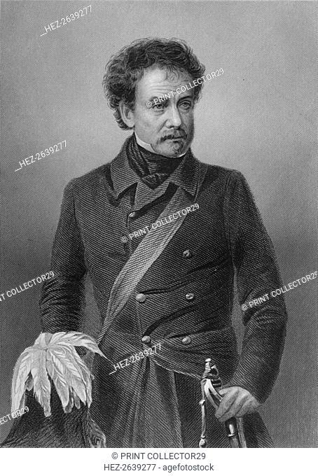 'Gen. Lord Clyde, G.C.B., Etc.', 1859. Artist: Thomas William Hunt