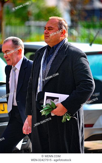 The funeral of Coronation Street actress Liz Dawn Featuring: Nigel Pivaro Where: Manchester, United Kingdom When: 06 Oct 2017 Credit: WENN.com
