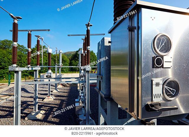 Electrical substation. Tecnalia Research & Innovation. Science and Technology Park of Bizkaia. Zamudio. Bizkaia. Basque Country. Spain