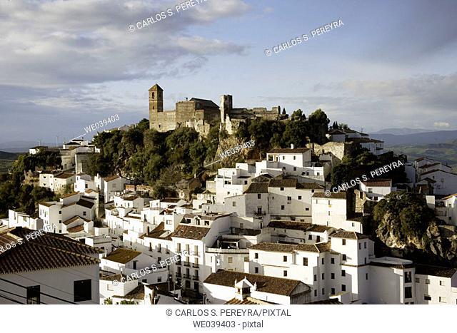 Casares. Málaga province, Andalusia, Spain
