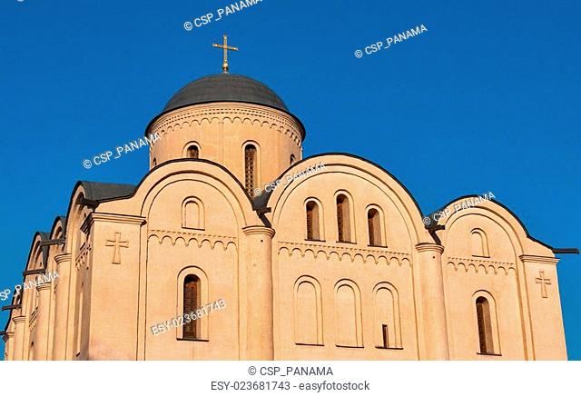 Assumption of the Virgin Mary Church Pirogoscha in Kiev, Ukraine