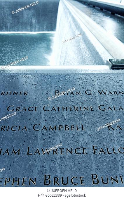 911 World Trade Center Memorial , Ground Zero, Manhattan, New York