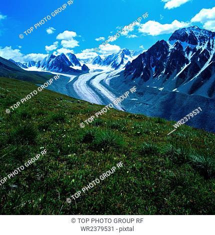 Kanas glacier fairy Bay
