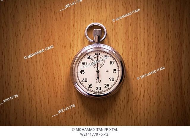 One stopwatch