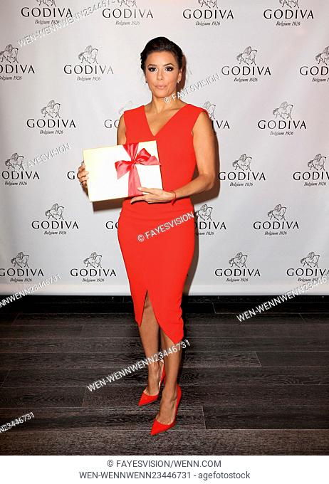 Eva Longoria Celebrates Valentine's Day With Godiva Featuring: Eva Longoria Where: Glendale, California, United States When: 03 Feb 2016 Credit:...