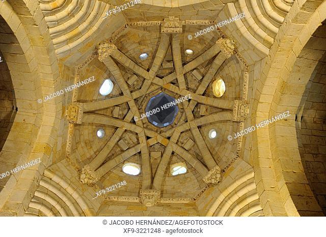 Dome of romanesque church of San Miguel. Almazán. Soria province. Castilla y León. Spain