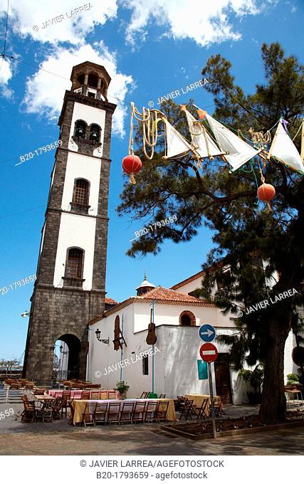 Concepcion Chuch, Santa Cruz de Tenerife, Tenerife, Canary Island, Spain
