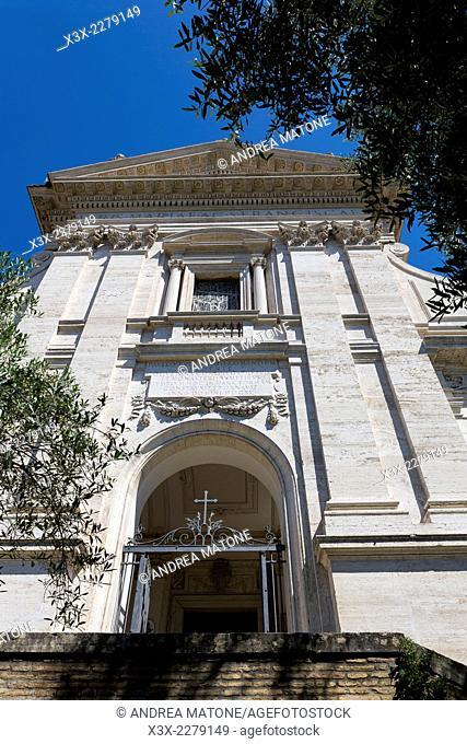 Church of Santa Francesca Romana. Exterior. Rome, Italy