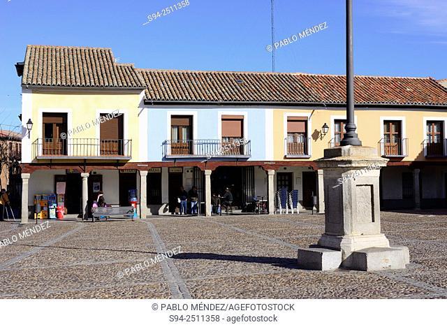 Segovia's square in Navalcarnero, Madrid, Spain
