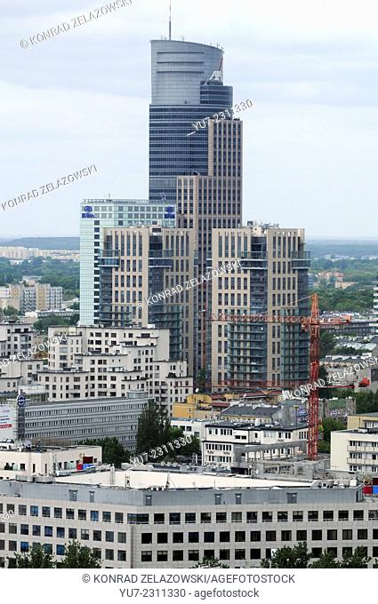 Warsaw Trade Tower office building, Poland