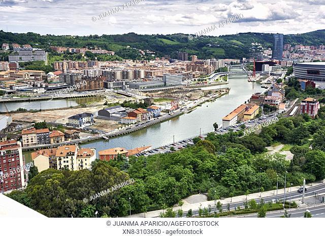 Zorrozaurre, Bilbao, Biscay, Basque Country, Spain, Europe