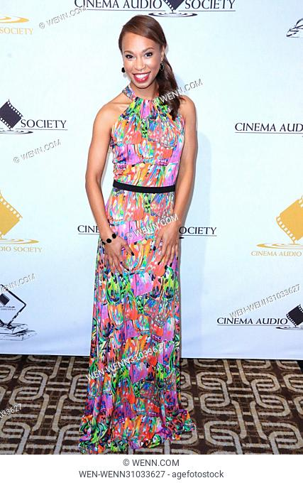 53rd Annual Cinema Audio Society (CAS) Awards at Omni Los Angeles Hotel at California Plaza - Arrivals Featuring: Nondumiso Tembe Where: Los Angeles, California