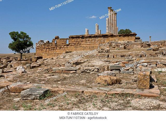Tunisia - Thuburbo Majus - The Capitol