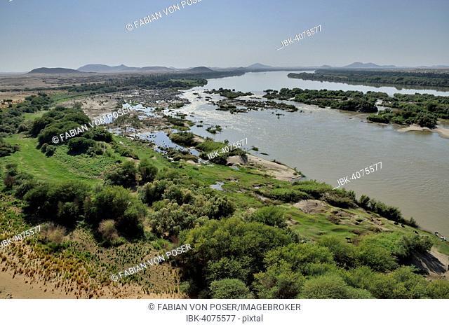 Third Cataract of the Nile at Kerma, Northern, Nubia, Sudan