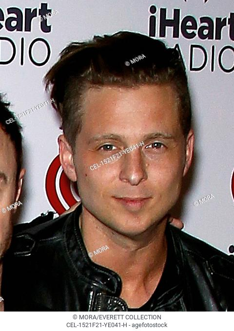One Republic, Ryan Tedder at arrivals for iHeartRadio Ultimate Valentine's Escape at Paris Las Vegas Presented by Hot Tub Time Machine 2