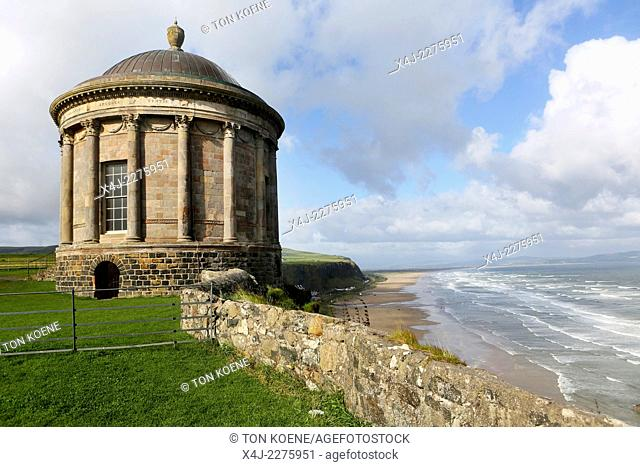 the Mussenden Temple was Commissioned by Earl Bishop Frederick Hervey in 1783