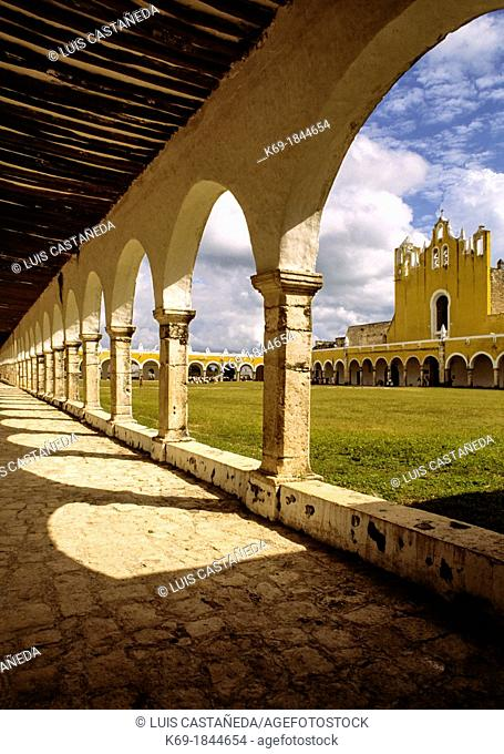 San Antonio de Padua convent was built between 1553 and 1561 on top of the remains of a major Mayan city  The Convent houses the patron saint of Izamal and of...
