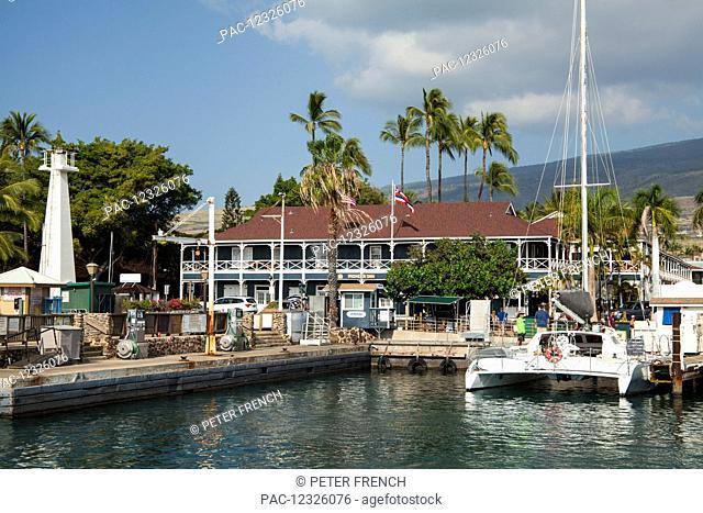 Pioneer Inn, Lahaina Harbor; Lahaina, Maui, Hawaii, United States of America
