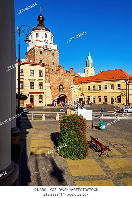 Poland, Lublin Voivodeship, City of Lublin, Old Town, Krakow Gate