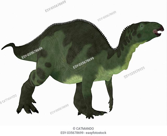 Camptosaurus was a herbivorous dinosaur that lived in the Jurassic Period of North America